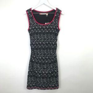 Chelsea & Violet Ikat Ruched Mini Dress NWT #281